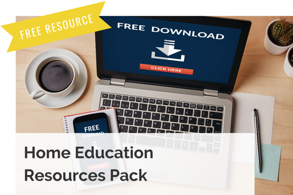 home education resource pack image and link